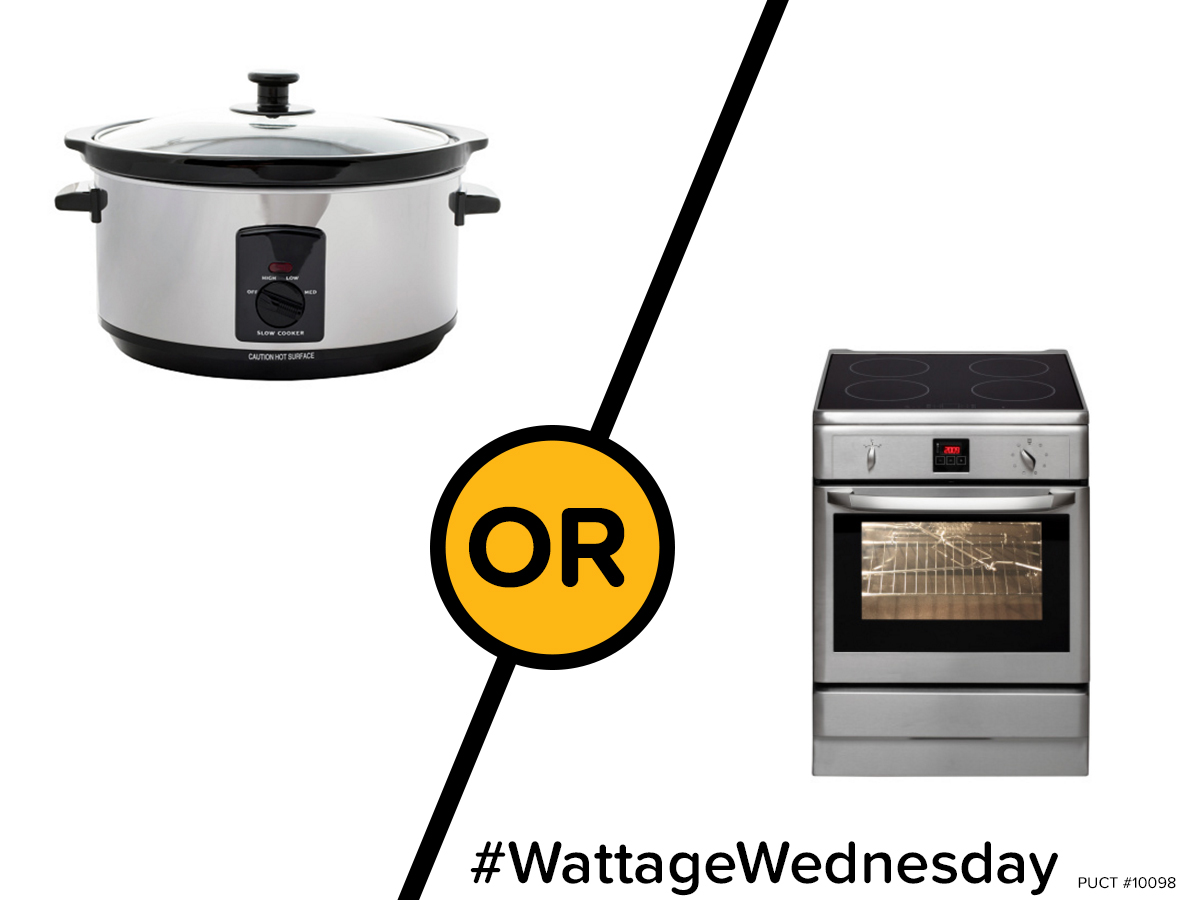 Wattage Wednesday: Slow Cooker or Oven?
