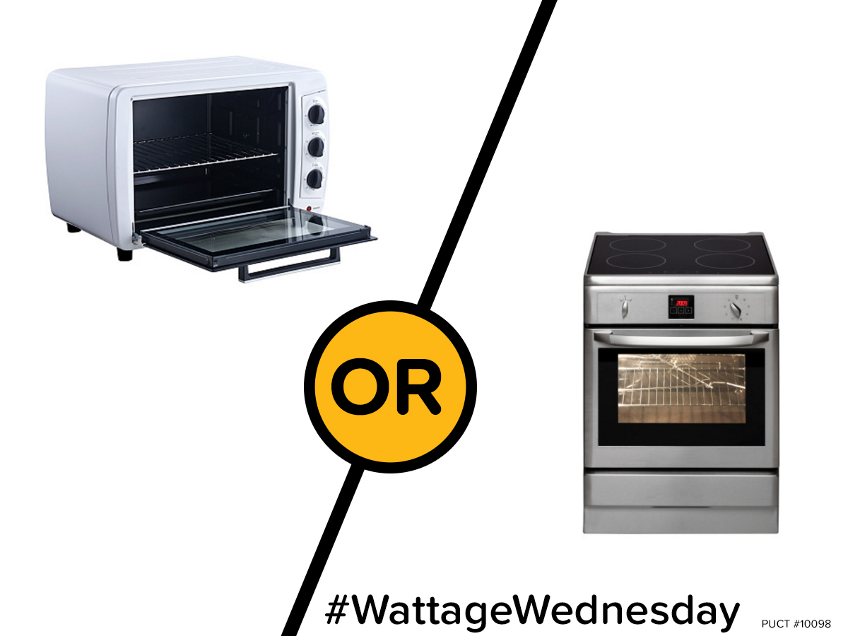Wattage Wednesday: Toaster Oven or Oven?